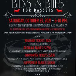 Bids & Bites for Bassets